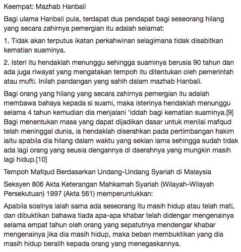 mufti wilayah persekutuan jawab kekeliruan netizen terhadap pengakhiran drama menanti februari 5
