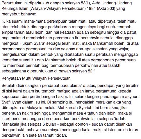 mufti wilayah persekutuan jawab kekeliruan netizen terhadap pengakhiran drama menanti februari 6