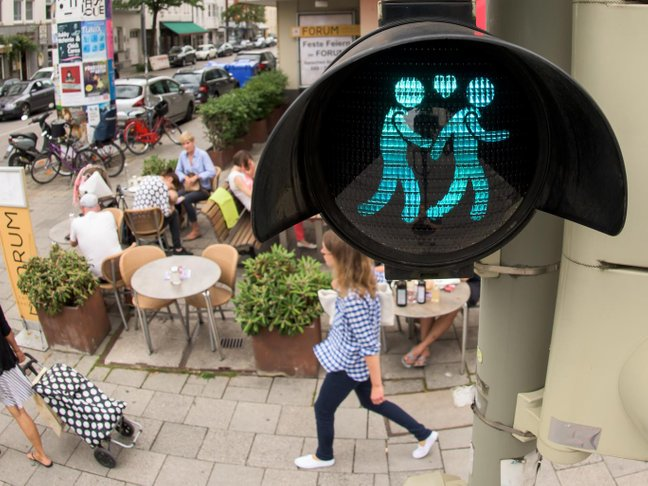 munich traffic lights