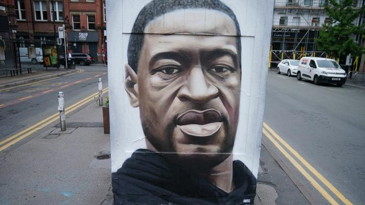 mural george floyd i cant breathe