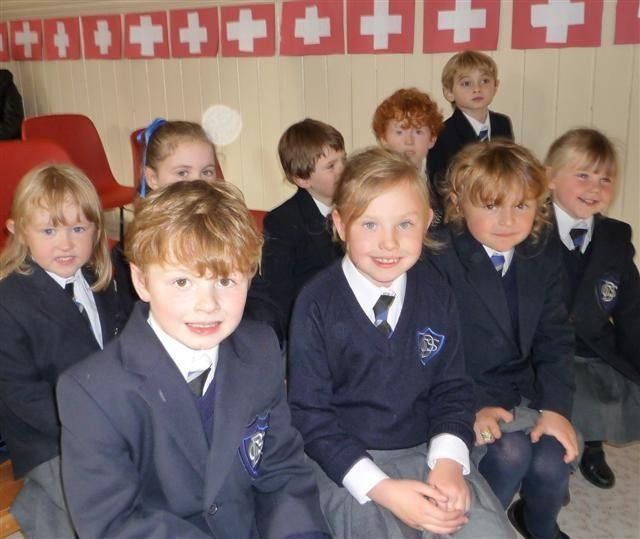 murid sekolah rendah di switzerland