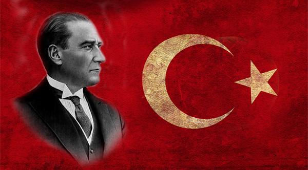 mustafa kemal atat rk menjadi presiden pertama republic of turkey