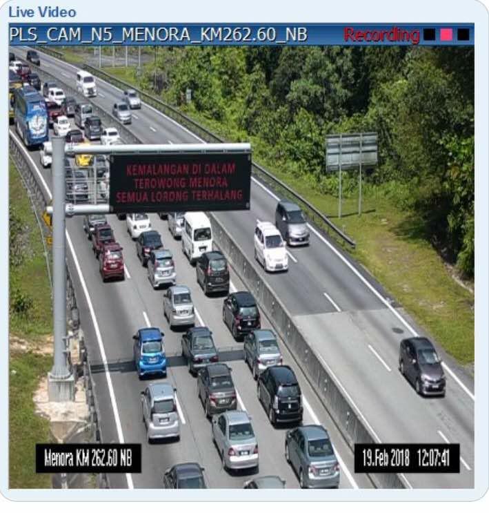 nahas terowong menora laluan terhalang hampir sejam trafik sesak teruk 5km 3