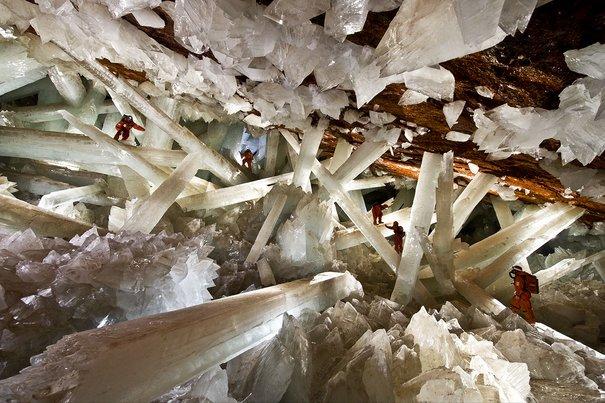naica caves tempat alien