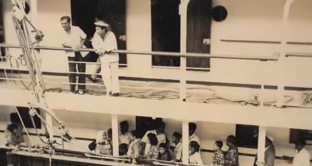 naik kapal tunaikan haji