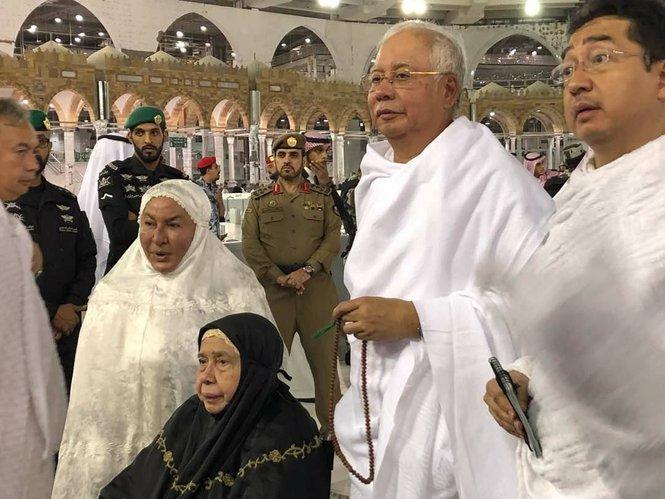 najib menjadi tetamu istimewa kerajaan arab saudi