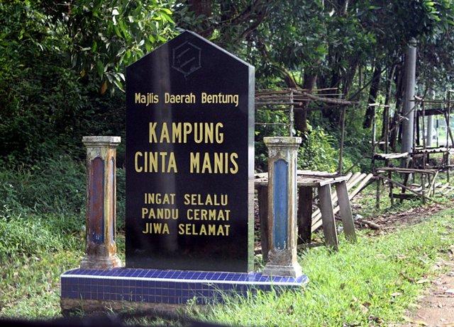 nama kampung pelik di malaysia kampung cinta manis