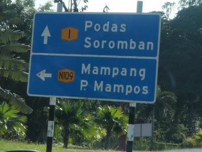 nama tempat pelik di malaysia pi mampos