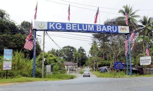 nama tempat pelik kampung belum baru