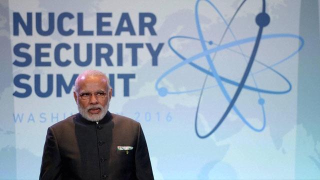narendra modi nuklear summit