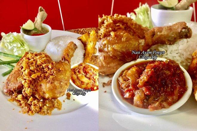 Resepi Nasi Ayam Penyet Iluminasi