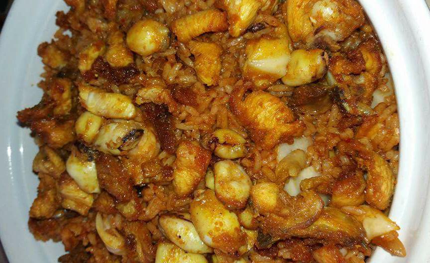 nasi goreng ayam perap rempah