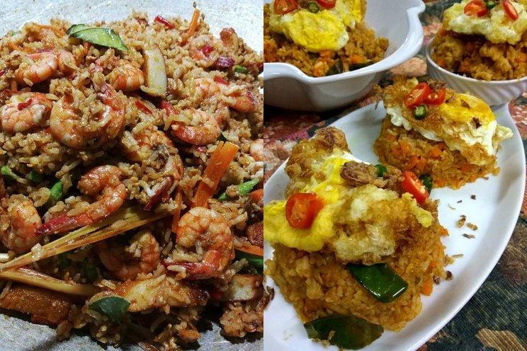 gambar nasi goreng daging merah gambar makanan Resepi Kerepek Popia Tomyam Enak dan Mudah