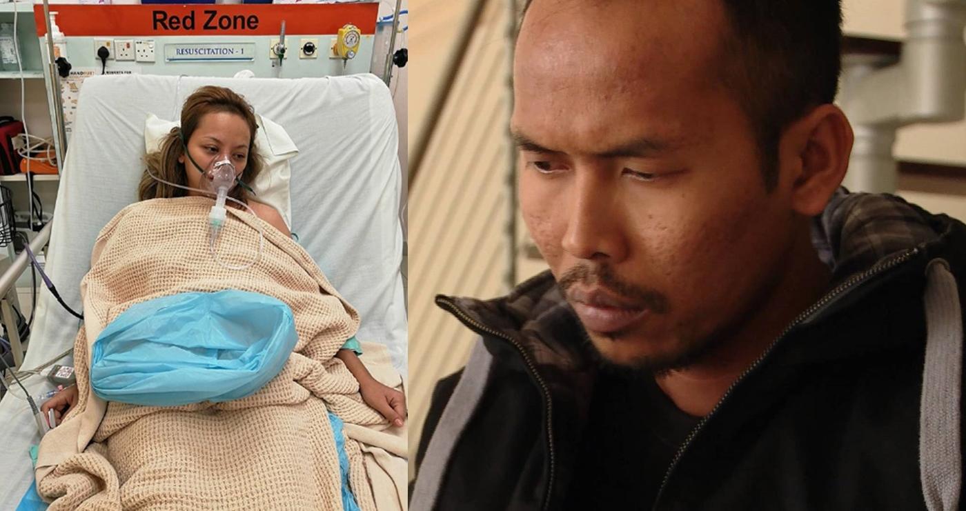 nasib baik selamat sempat ke hospital kalau tidak shuib