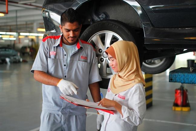 nasihat pelanggan tentang kos pembaikian kereta