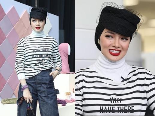 neelofa jadi mangsa fesyen