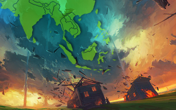 negara asia yang paling kerap dilanda bencana alam