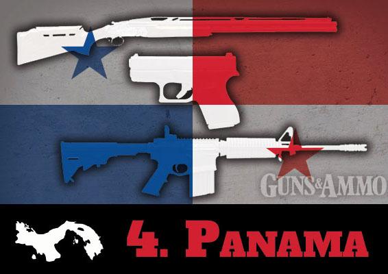 negara paling longgar undang undang senjata api 9