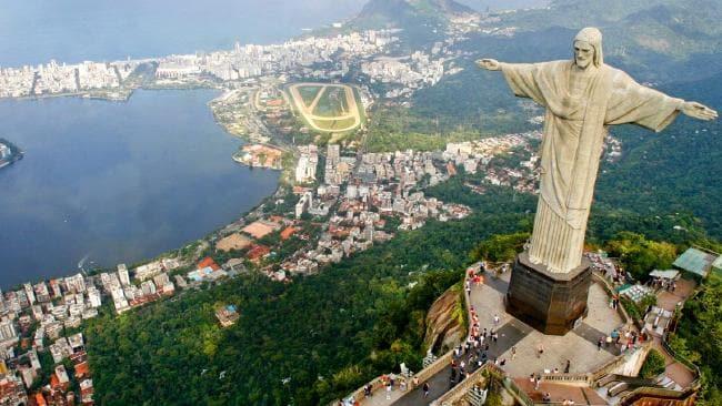negara paling luas di dunia brazil patung jesus