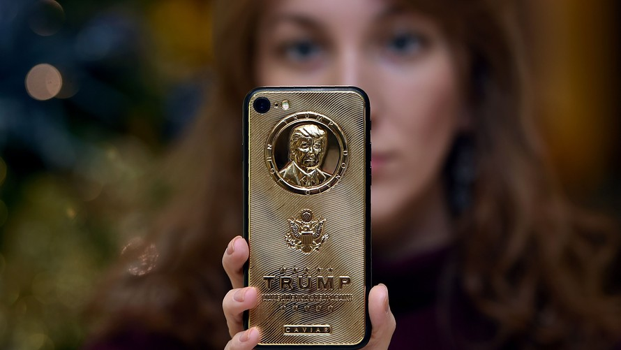 negara paling tinggi simpanan emas donald trump