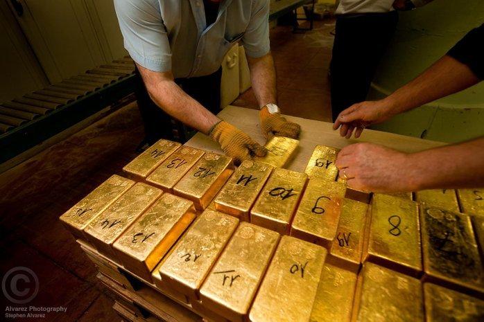 negara paling tinggi simpanan emas perancis