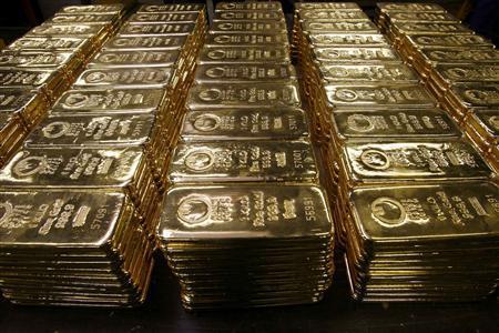 negara paling tinggi simpanan emas