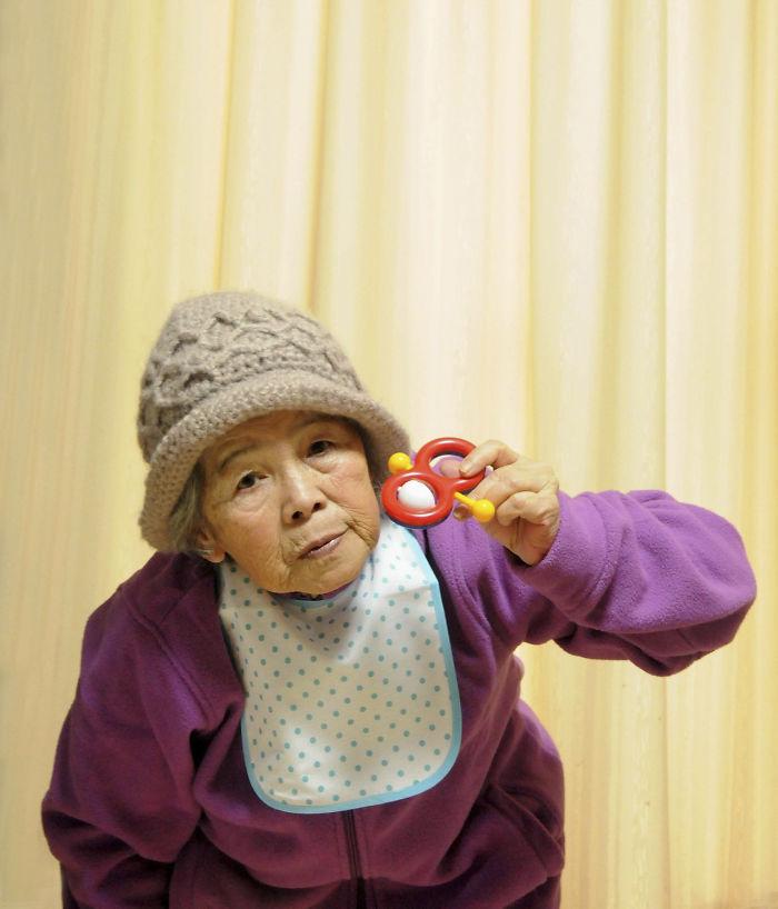 nenek sporting jepun