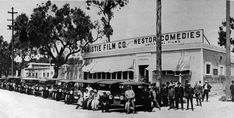 nestor studios hollywood studio pertama
