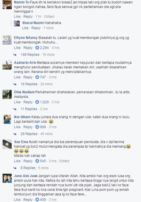 netizen berang faye menipu tentang pernikahannya 3