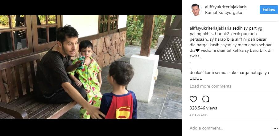 netizen menitis air mata tonton video terbaru datuk aliff syukri 4