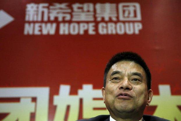 new hope group ditubuhkan oleh liu yonghao