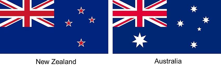 new zealand australia bendera