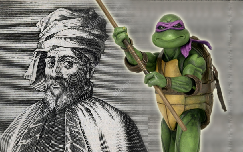 ninja turtle donatello