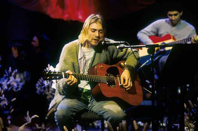 nirvana mtv unplugged 1994