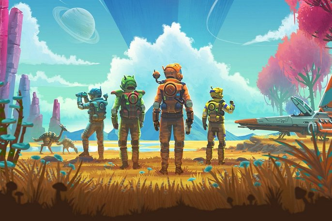 no mans sky janji kosong 0engeluar video game