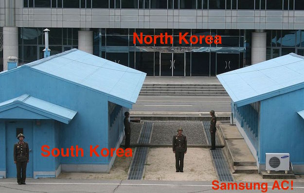 north korea border sout korea