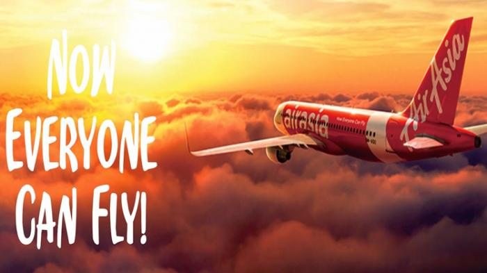 now everyone can fly airasia