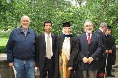 nurul izzah anwar pada majlis graduasi di johns hopkins university amerika syarikat