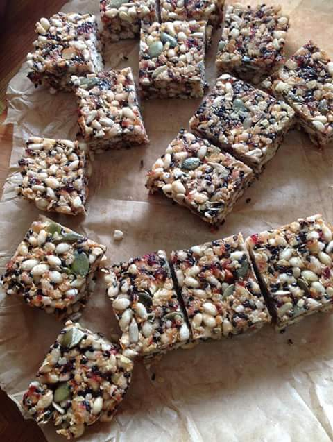 nuts bar atau granola bar homemade 1