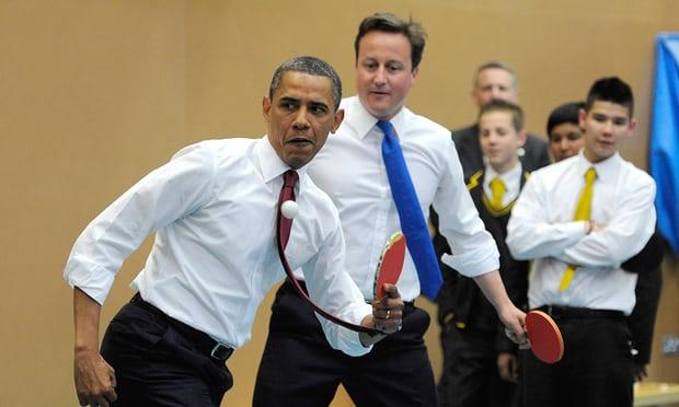 obama main ping pong