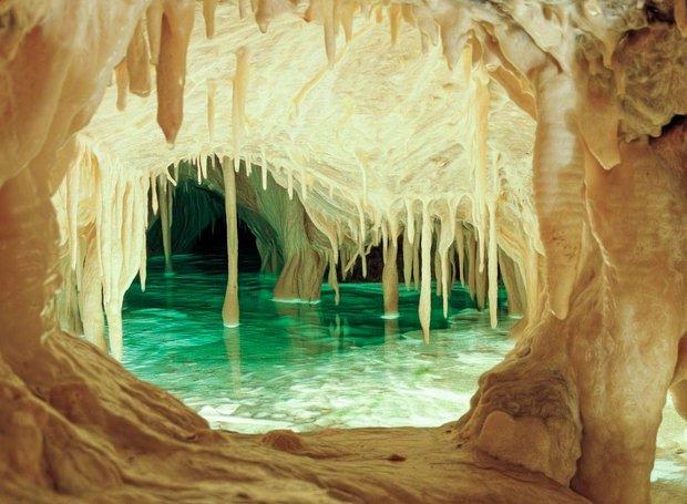 obir dripstone caves austria tempat alien