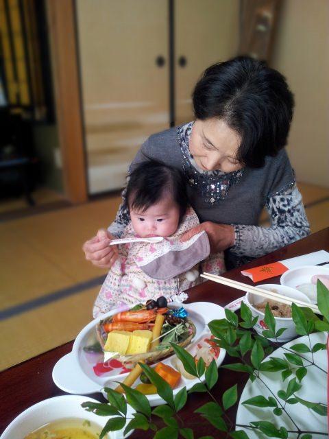 okuizome makanan sihat bayi