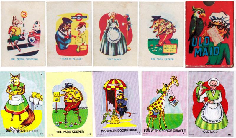 old maid hee trading malaysia kad card game