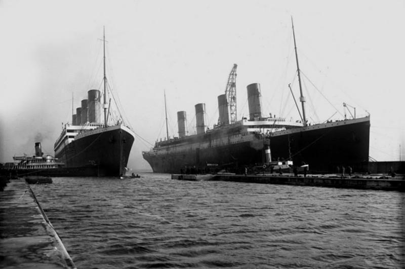 olympic dan titanic