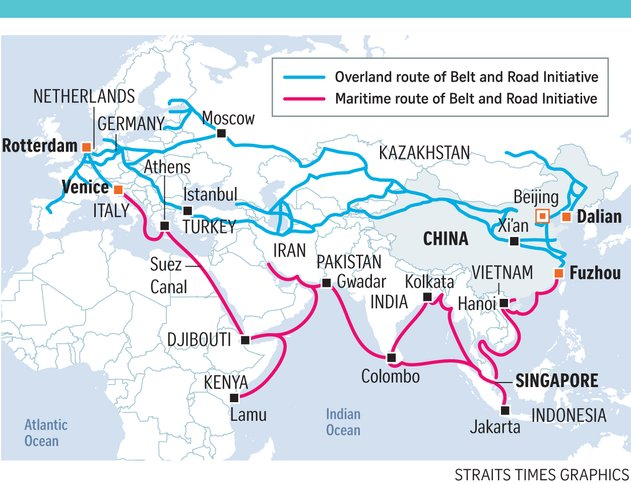 one belt one road 515