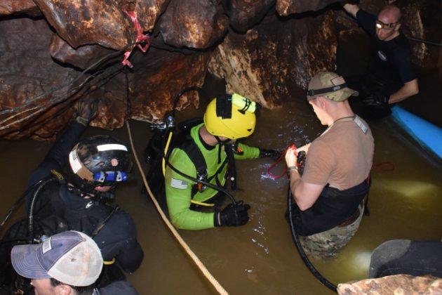 operasi menyelamat mangsa gua thailand