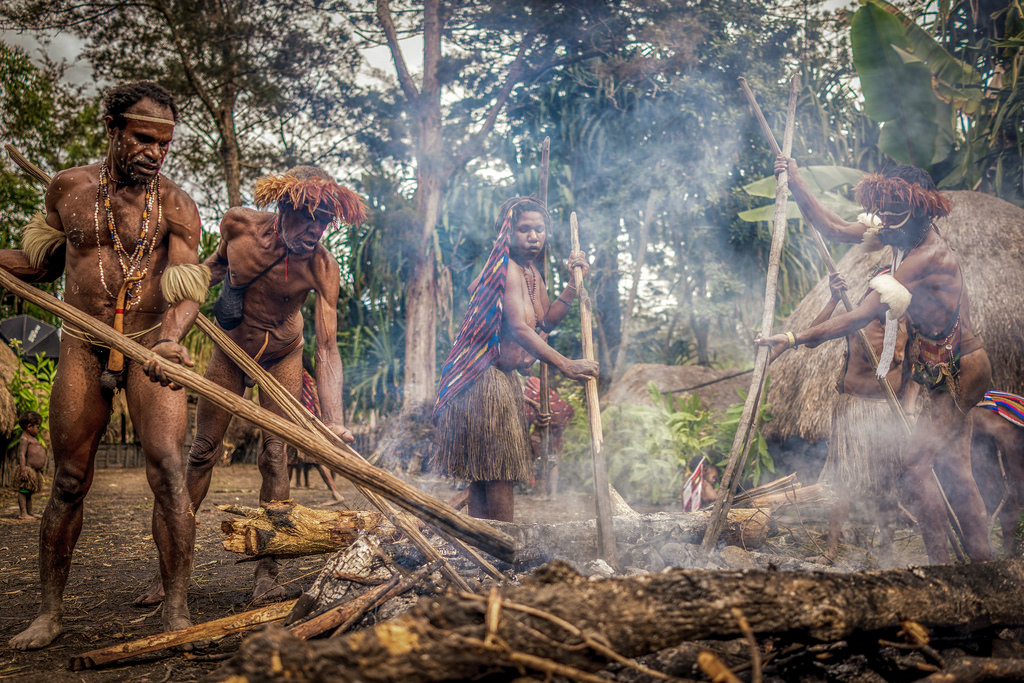 orang asli papua new guinea