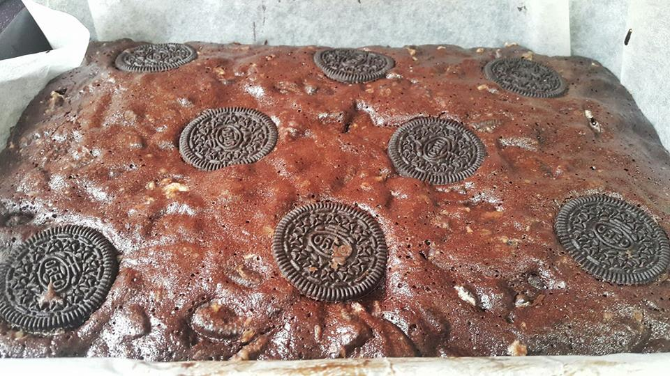 oreo brownies