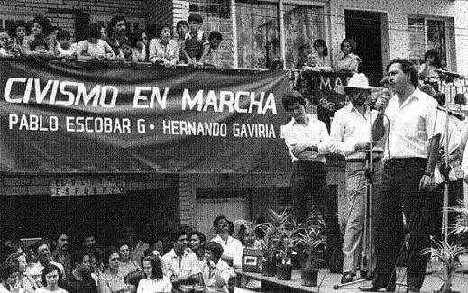 pablo escobar dianggap sebagai hero oleh sesetengah penduduk colombia
