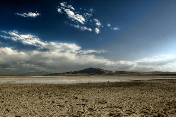 padang pasir awan langit gunung
